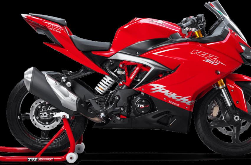 TVS Apache RR 310 price in India