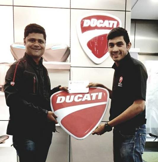 Ducati V4 S gets its first owner in India in the form of Aniket Hazare