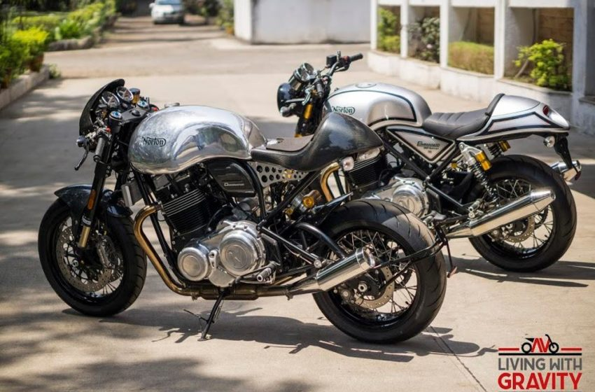 Norton Dominator and Commando