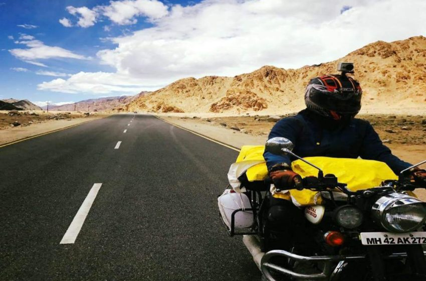 14 day inspiring journey on Bullet Classic 350 from Pune to Ladakh