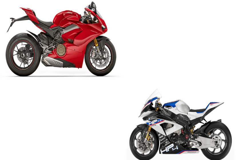 BMW HP 4 Race Vs Ducati Panigale V4 S