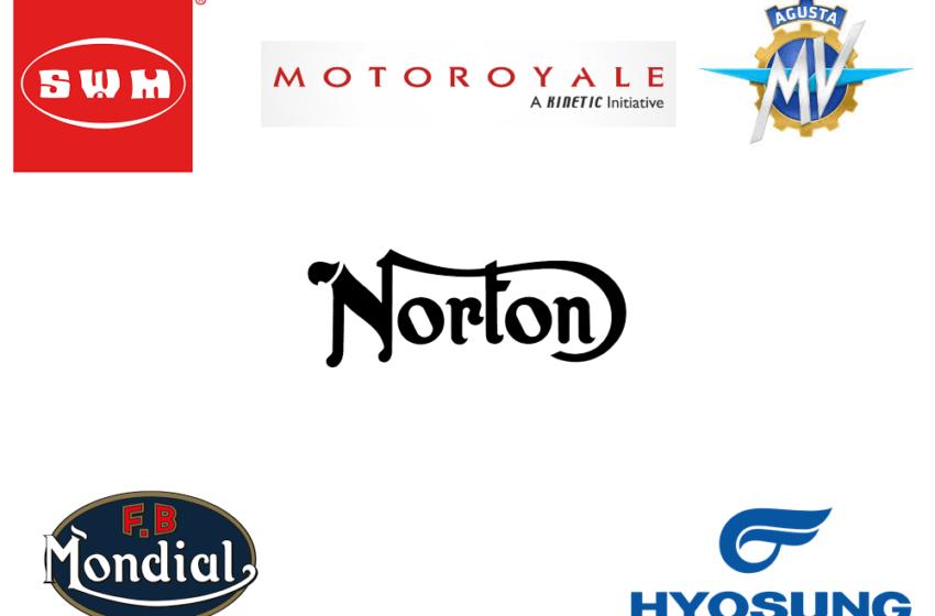 Motoroyale, Norton, FB Mondial, Hyonsung, SWM, MV Agusta