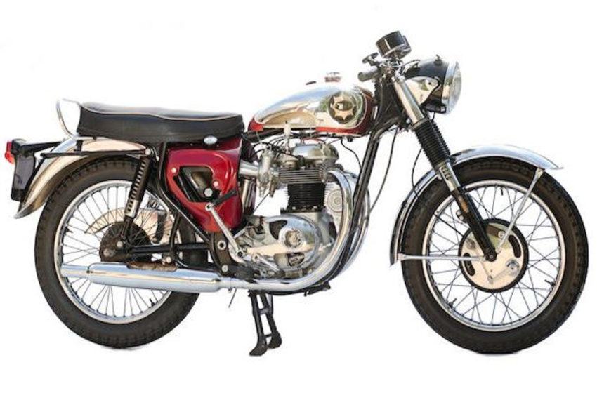 Classic :1964 BSA Lightning Rocket 650cc Cutaway Motorcycle