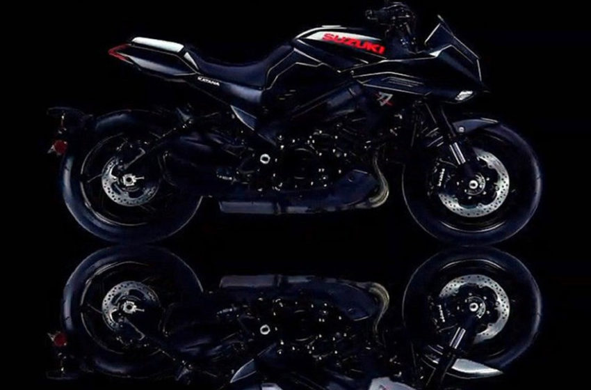 2019 Black Katana teased by Suzuki
