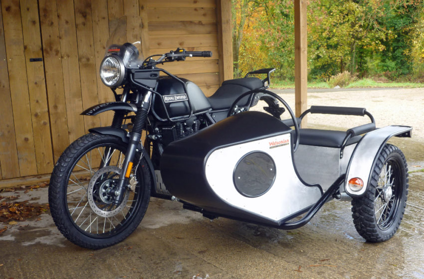 News : Enfield Himalayan gets the side car treatment