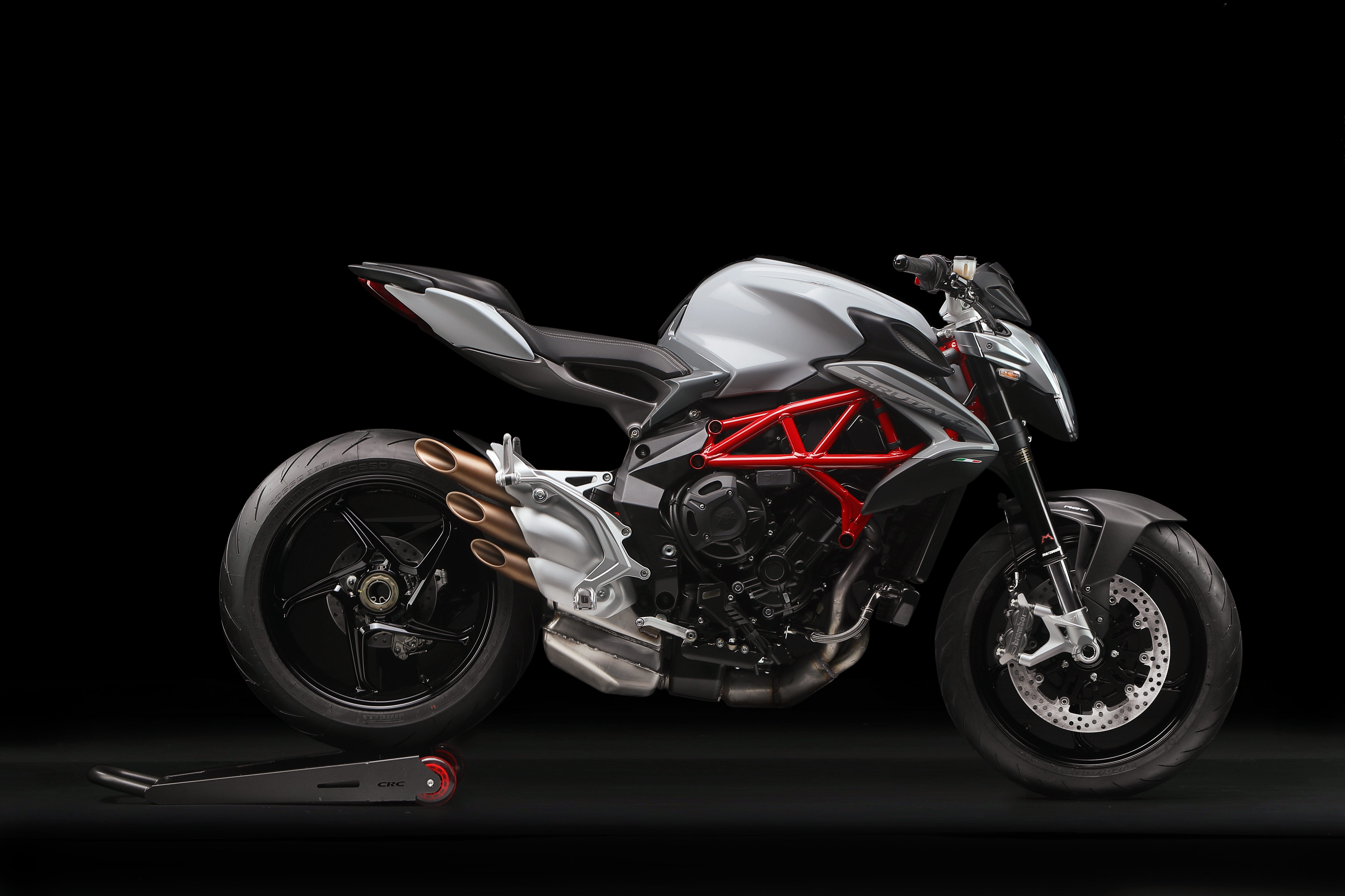 News : All the excitement of riding an MV Agusta with an A2