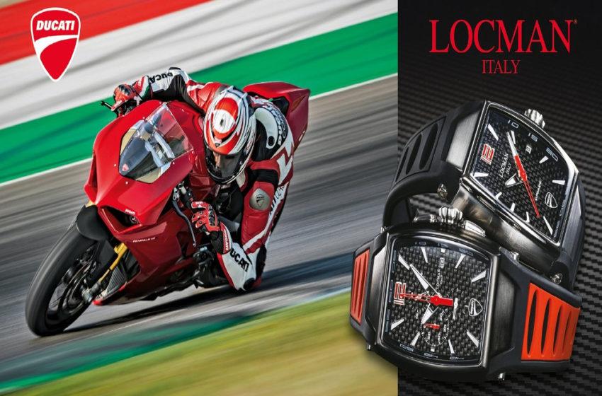 News : Ducati-Locman unveils new range of time pieces
