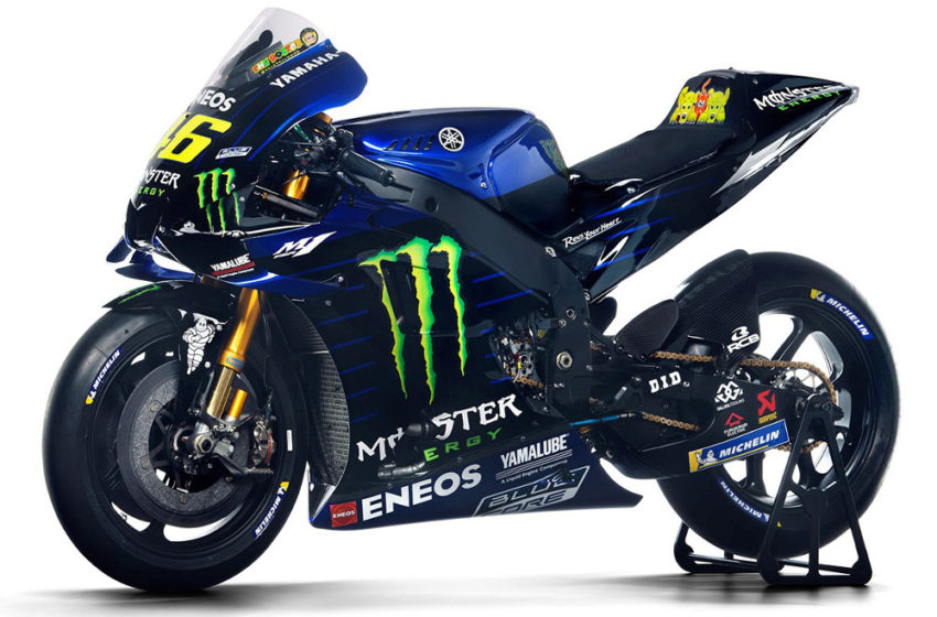 Motogp Rossi S New Yamaha M1 For 2020 Adrenaline Culture Of Motorcycle And Speed