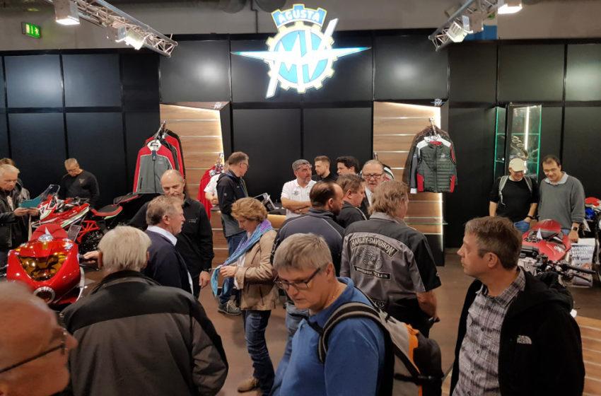 News : MV Agusta were in Zurich and Utrecht Motorshows