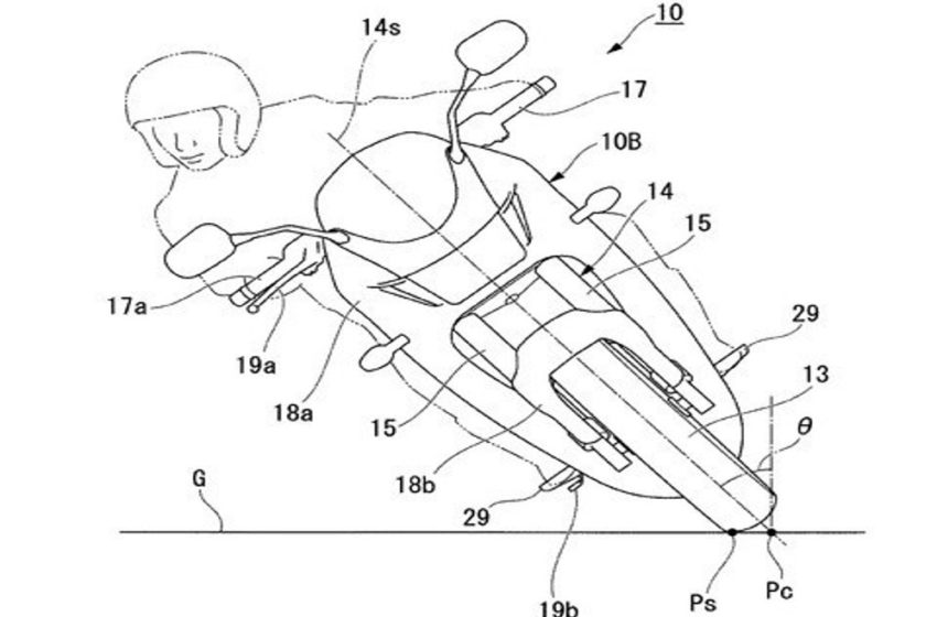 News : Honda's patent for 2 wheel drive for electric bike