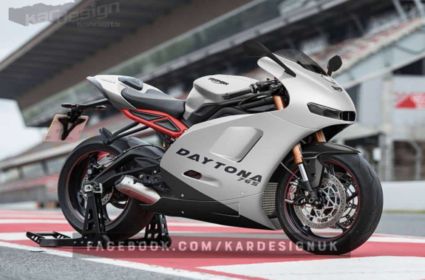 News : Surprise as Triumph Daytona will also arrive in 660 A2 version