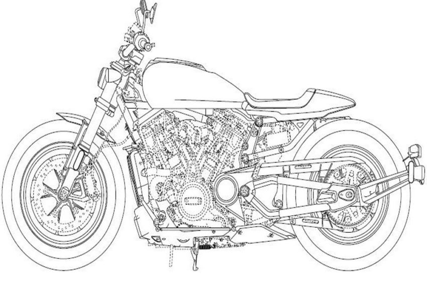 News : Harley refers using DOHC plus new rod valve kit for its new engine