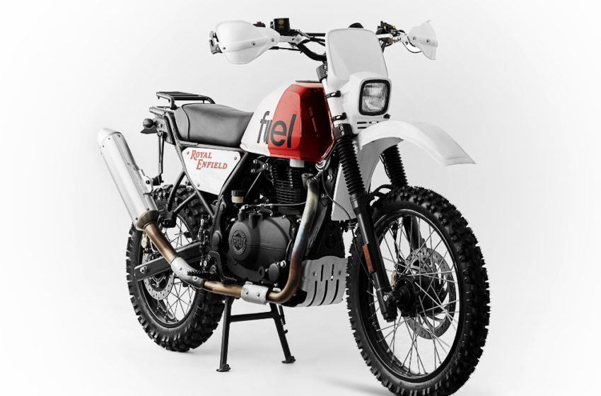 Custom : Royal Rally 400 from Fuel Motorcycles