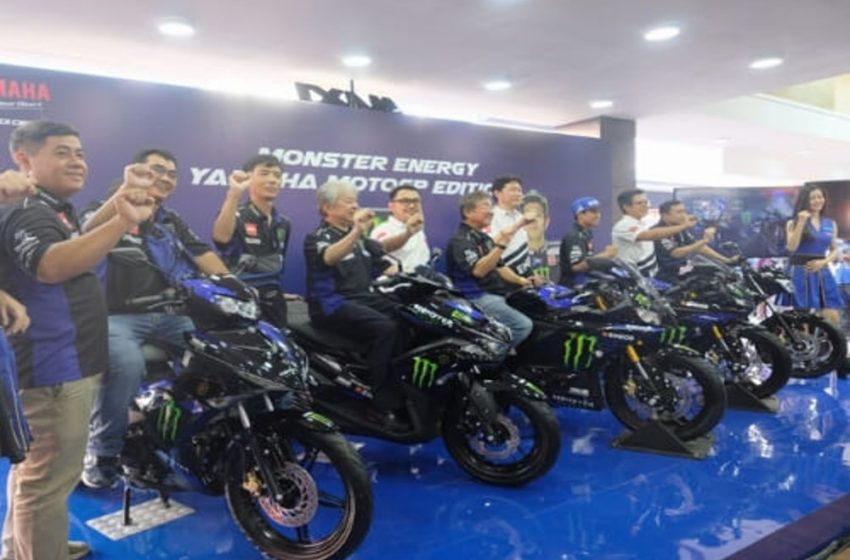 "News : Yamaha Indonesia unveils 5 models under "" Monster Energy "" Edition"