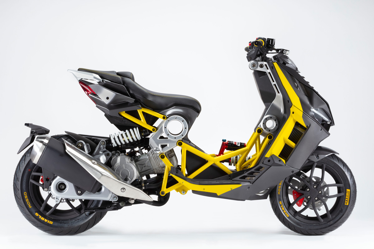 Italjet Dragster production starts from May 2020