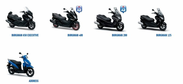 Do we see the end of scooters from Suzuki?