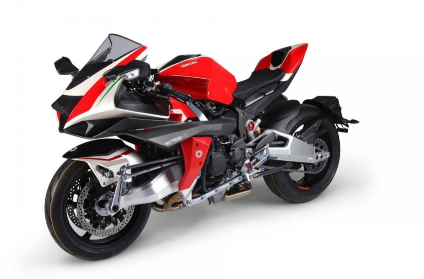 Its official Bimota Tesi H2 gets 228hp of power