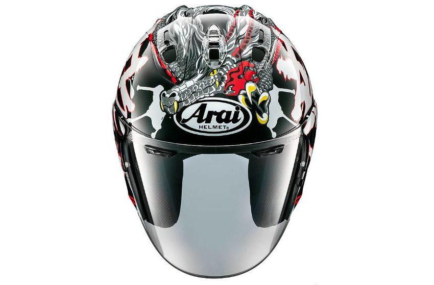 Arai brings new open face headgear