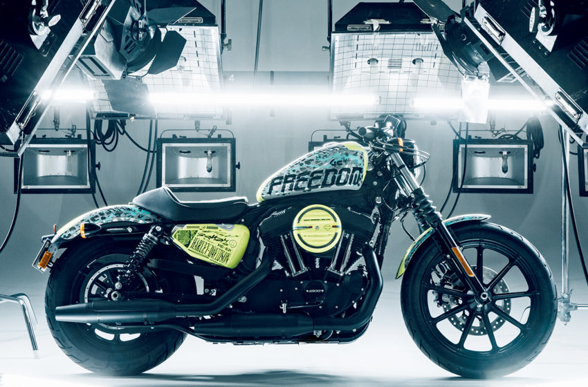 "Harley Davidson Japan brings the project ""SEEK for FREEDOM"""