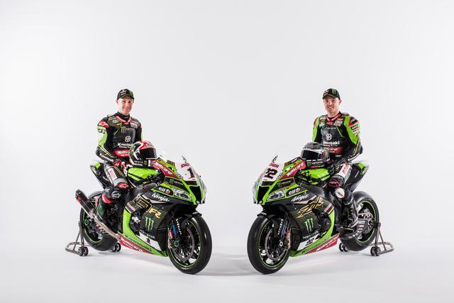 Kawasaki unveils the 2020 WorldSBK liveries