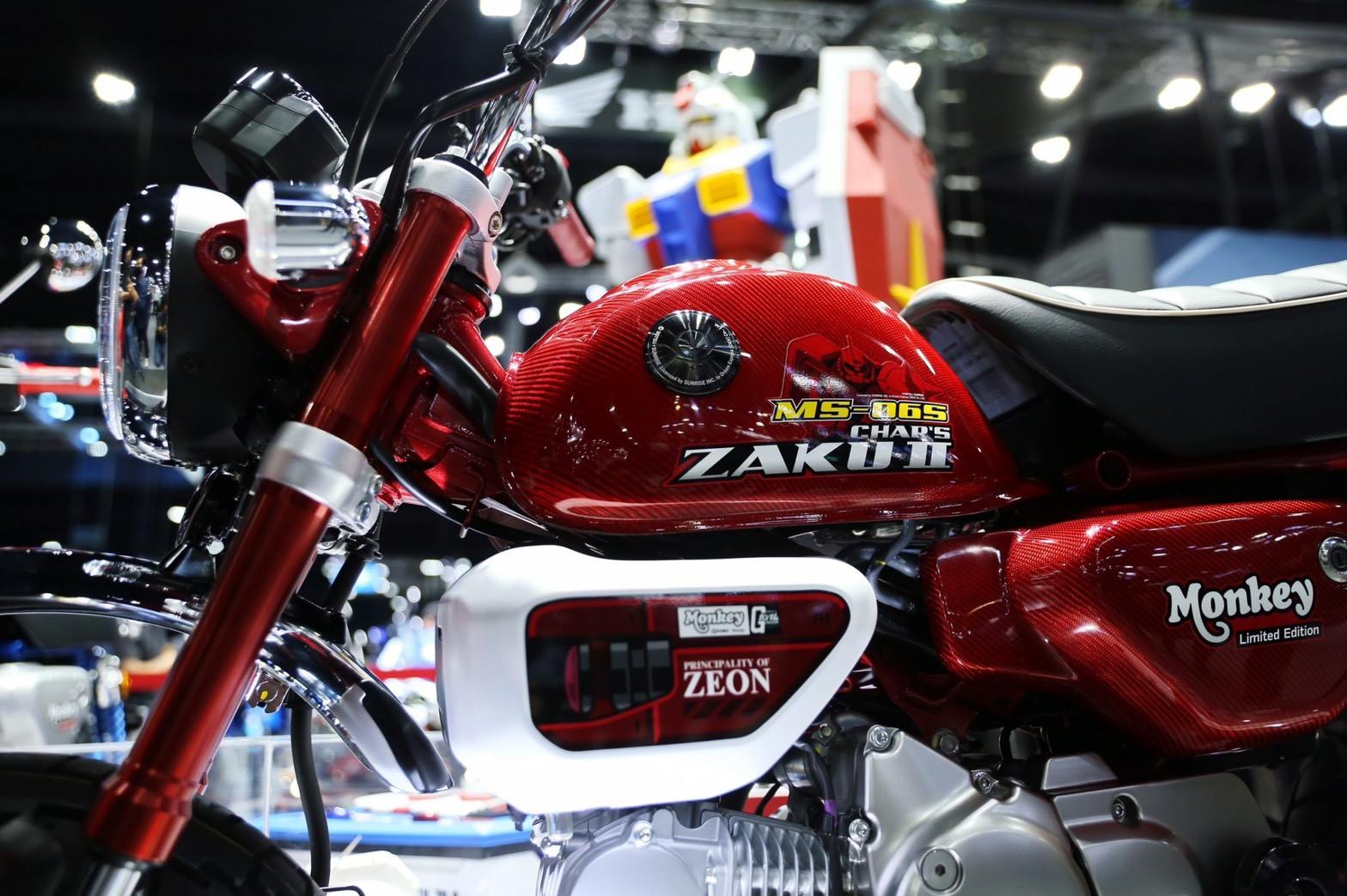 Honda Thailand Unveils Two Limited Monkey Variants Adrenaline Culture Of Motorcycle And Speed